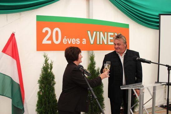 Vinex - a 20. év ünneplésén